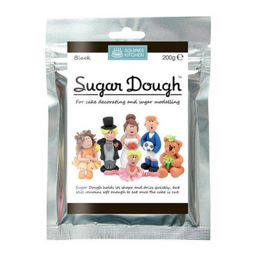 Squires Kitchen - Black Sugar Dough - 200g